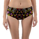 Queen Design 456 Reversible Mid-Waist Bikini Bottoms View3