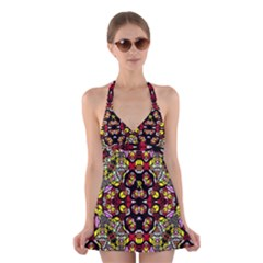 Queen Design 456 Halter Swimsuit Dress