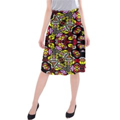 Queen Design 456 Midi Beach Skirt