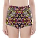 Queen Design 456 High-Waisted Bikini Bottoms View1