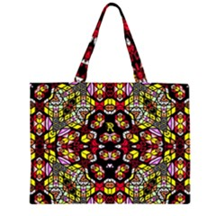 Queen Design 456 Zipper Large Tote Bag
