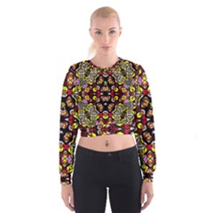 Queen Design 456 Cropped Sweatshirt