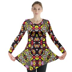 Queen Design 456 Long Sleeve Tunic