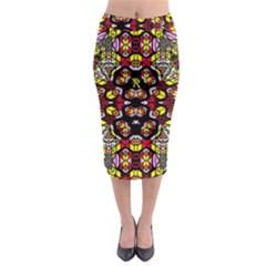 Queen Design 456 Midi Pencil Skirt