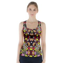 Queen Design 456 Racer Back Sports Top