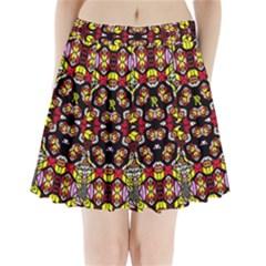 Queen Design 456 Pleated Mini Skirt