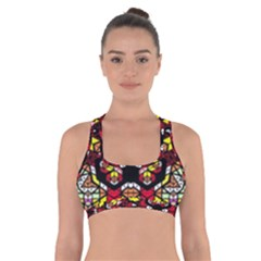 Queen Design 456 Cross Back Sports Bra