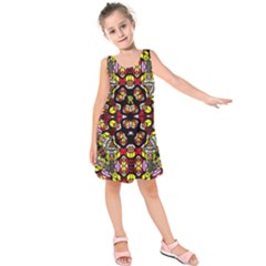 Queen Design 456 Kids  Sleeveless Dress