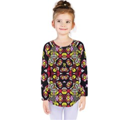 Queen Design 456 Kids  Long Sleeve Tee