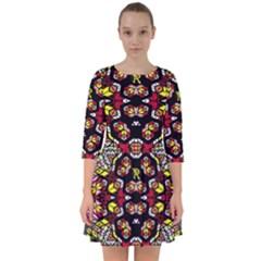 Queen Design 456 Smock Dress
