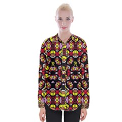 Queen Design 456 Womens Long Sleeve Shirt