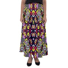 Queen Design 456 Flared Maxi Skirt