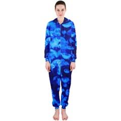 Blue Jellyfish Hooded Jumpsuit (ladies)