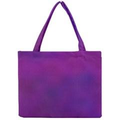 Mottled Purple Mini Tote Bag