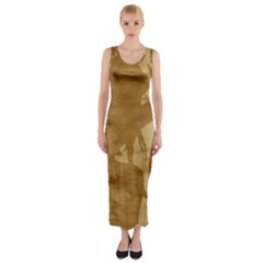 Musica Fitted Maxi Dress