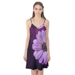 Purple Flower Camis Nightgown