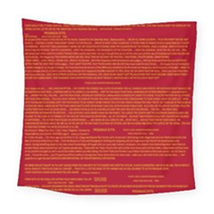 Mrtacpans Writing Grace Square Tapestry (large)