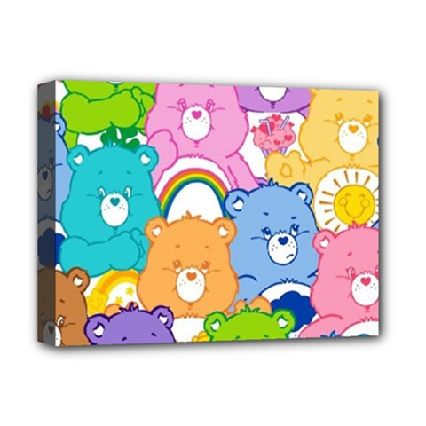 Care Bears Deluxe Canvas 16  X 12