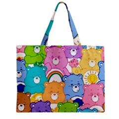 Care Bears Zipper Medium Tote Bag