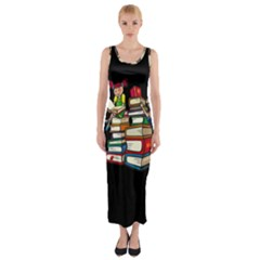 Back To School Fitted Maxi Dress