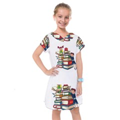 Back To School Kids  Drop Waist Dress