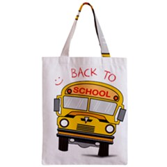 Back To School   School Bus Classic Tote Bag