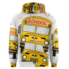 Back To School   School Bus Men s Pullover Hoodie