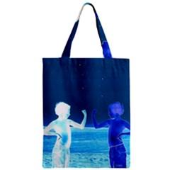 Space Boys  Zipper Classic Tote Bag