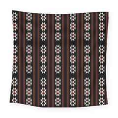 Folklore Pattern Square Tapestry (large)