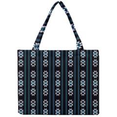 Folklore Pattern Mini Tote Bag