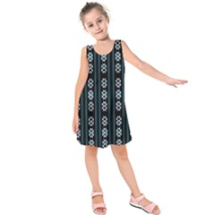 Folklore Pattern Kids  Sleeveless Dress