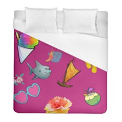 Aloha   Summer Fun 1 Duvet Cover (full/ Double Size)