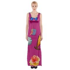 Aloha   Summer Fun 1 Maxi Thigh Split Dress