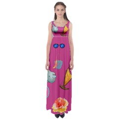 Aloha   Summer Fun 1 Empire Waist Maxi Dress