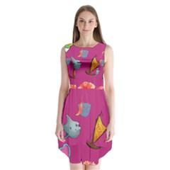 Aloha   Summer Fun 1 Sleeveless Chiffon Dress