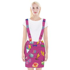 Aloha   Summer Fun 1 Braces Suspender Skirt