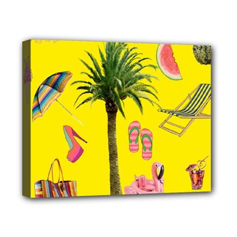Aloha   Summer Fun 2 Canvas 10  X 8