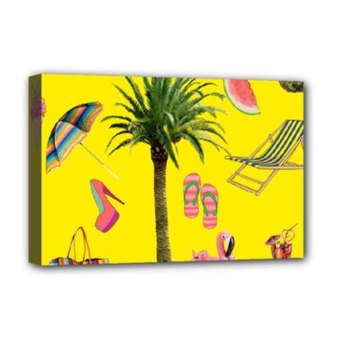 Aloha   Summer Fun 2 Deluxe Canvas 18  X 12