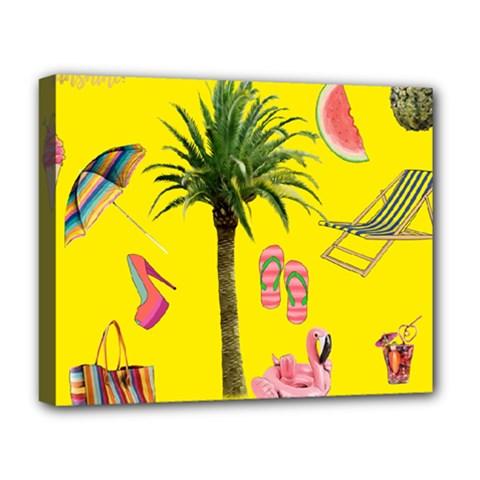Aloha   Summer Fun 2 Deluxe Canvas 20  X 16