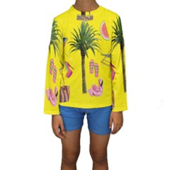 Aloha   Summer Fun 2 Kids  Long Sleeve Swimwear