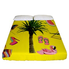 Aloha   Summer Fun 2 Fitted Sheet (california King Size)