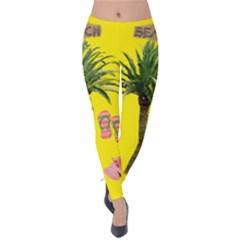 Aloha   Summer Fun 2 Velvet Leggings