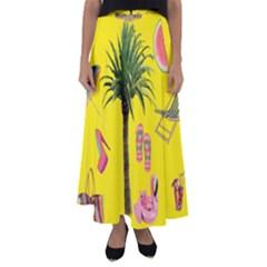 Aloha   Summer Fun 2 Flared Maxi Skirt