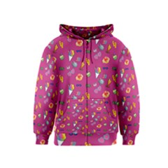 Aloha   Summer Fun 1b Kids  Zipper Hoodie