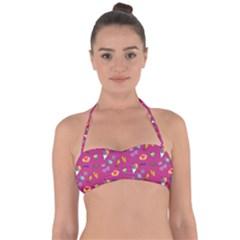 Aloha   Summer Fun 1b Halter Bandeau Bikini Top