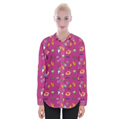 Aloha   Summer Fun 1b Womens Long Sleeve Shirt