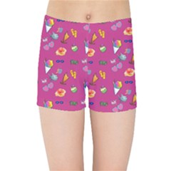 Aloha   Summer Fun 1b Kids Sports Shorts