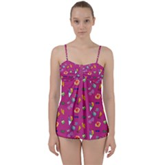 Aloha   Summer Fun 1b Babydoll Tankini Set