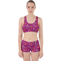 Aloha   Summer Fun 1b Work It Out Sports Bra Set