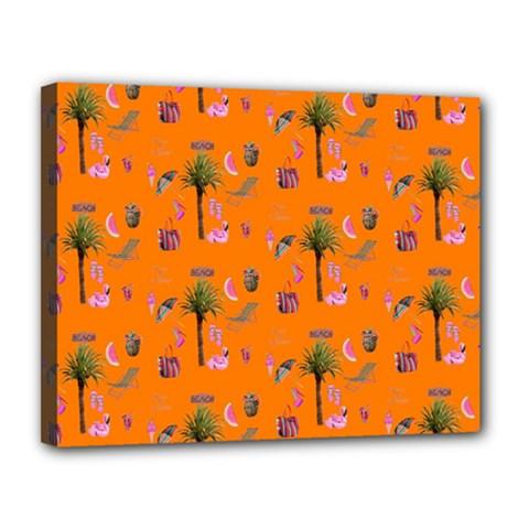 Aloha   Summer Fun 2c Canvas 14  X 11